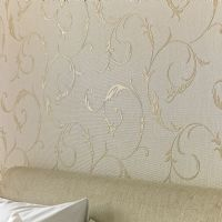 Graham and Brown Athena White/Gold 20-727 Wallpaper
